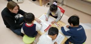 アルファベット を書く練習...